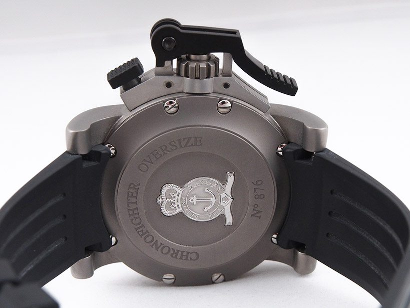 Graham Chronofighter back view