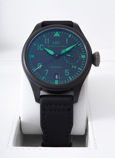 IWC Big Pilot Top Gun Boutique with Matte finished ceramic case with titanium caseback and fabric strap #1 out of 500