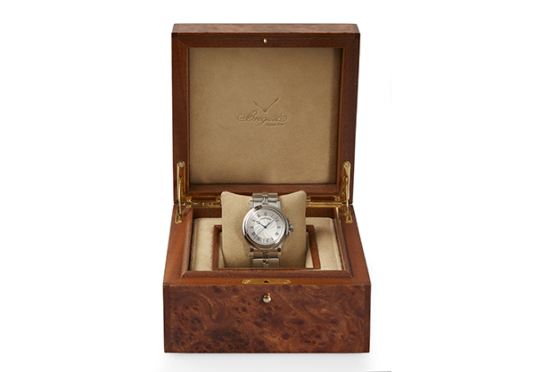 Breguet Marine Auto Big Date, Stainless Steel with Stainless Steel Bracelet - Box