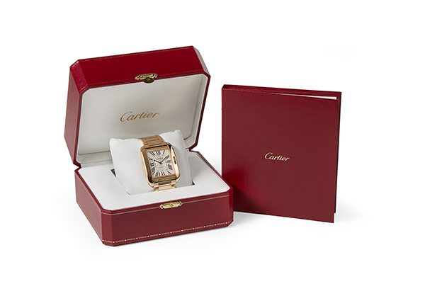 Cartier Large Tank Anglaise in 18K rose gold - Box