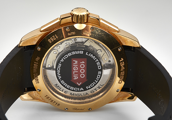 Chopard Limited Edition Mille Miglia Grand Turismo in 18K rose gold - Back