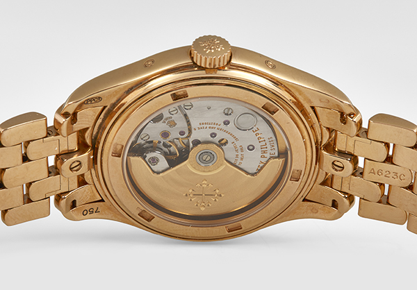Patek Philippe Annual Calendar 5036 in 18K rose gold - Back