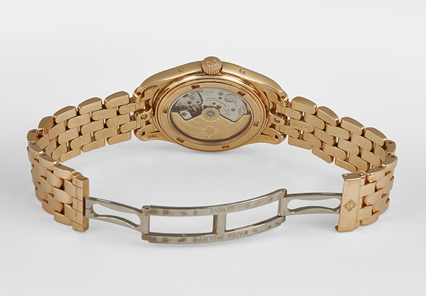Patek Philippe Annual Calendar 5036 in 18K rose gold - Open