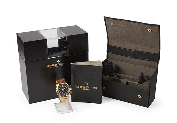 Vacheron & Contsantin Overseas Chrnograph in 18K rose gold - Box